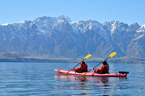paddle queenstown kayak remarkables